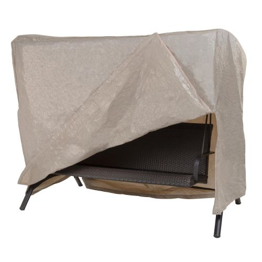 "Basics Outdoor Patio Swing Cover, 87""L x 64""W x 66""H, Khaki"