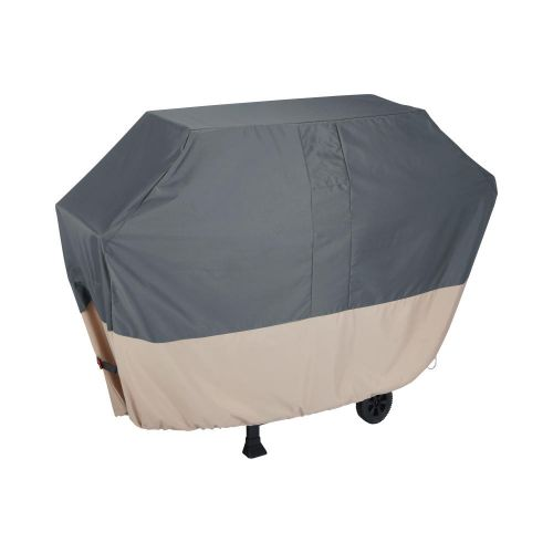 """Renaissance 65 in. Ultralite Outdoor Patio Grill Cover, 65""""L x 25""""W x 44.5""""H, Gray"""