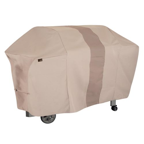 """Monterey 73 in. Outdoor Patio Grill Cover, 73""""L x 25""""W x 44.5""""H, Beige"""