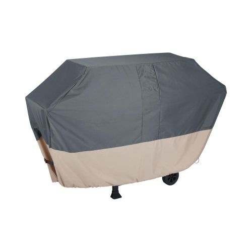 """Renaissance 73 in. Ultralite Outdoor Patio Grill Cover, 73""""L x 25""""W x 44.5""""H, Gray"""